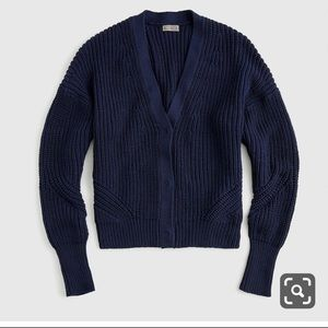 NWT J Crew Point Sur Ribbed Cardigan Sweater